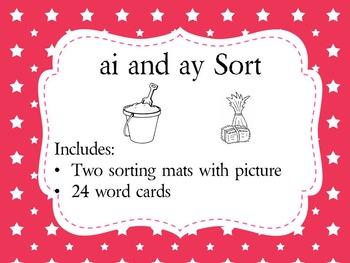 ai and ay Sort