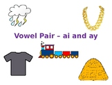 ai and ay Vowel Team Power Point