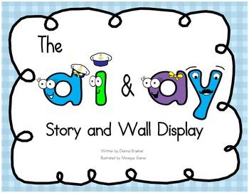ai ay story, wall sign, and ideas