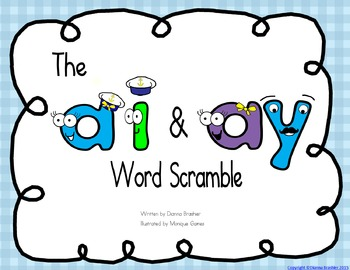 ai ay word scramble