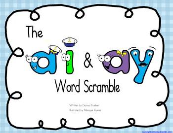 ai ay word scramble