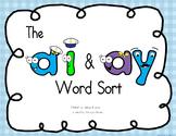 ai ay word sort