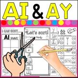 ai ay worksheets- circle it(freebie)