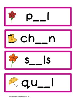 ai vowel pair (word builder, practice cards, vocabulary builder)