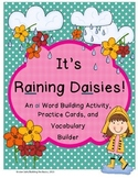 ai vowel pair (word builder, practice cards, vocabulary builder)