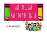 air, are, ear Race to the Finish