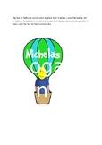 air balloon door display