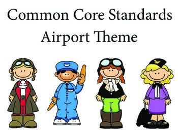 airport 1st grade English Common core standards posters