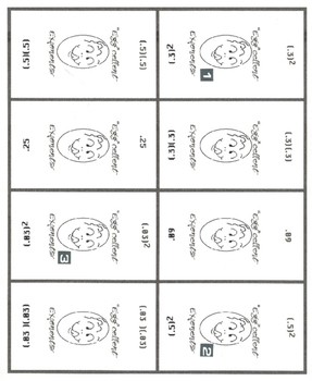 algebra, card game, Cindy Boyd, exponents