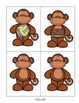 all Word Family Phonics Literacy Center/Game (Monkey Themed)