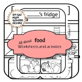 all about food worksheets and activities