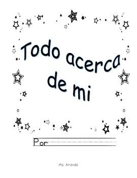 all about me, todo acerca de mi, spanish