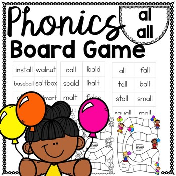 all and al Phonics Game for Repeated Reading and Fluency
