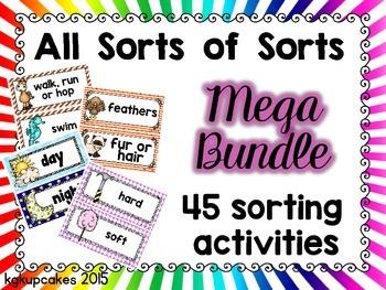 all sorts of sorts: mega bundle of 45 sorts