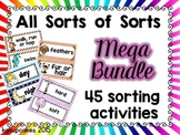 all sorts of sorts: mega bundle of 45 sorts