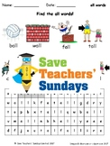 all word family lesson plans, worksheets and other teaching resources