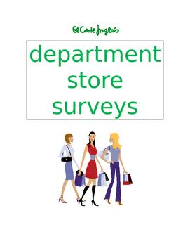 almacen department store survey SPANISH