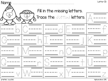 alphabet 2 part matching puzzles: thanksgiving pals theme