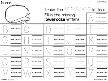 alphabet 2 part puzzles_matching beginning sound to picture_hedgehog theme