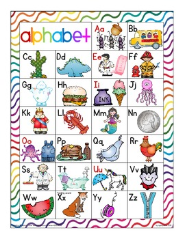 alphabet 2-part rainbow puzzles: matching upper to lower case with bonus