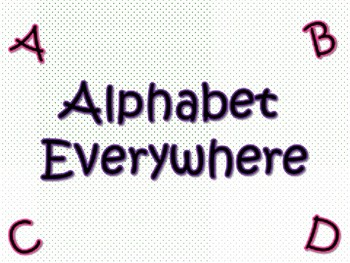 alphabet Everywhere Book