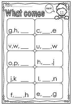 alphabet and number testing