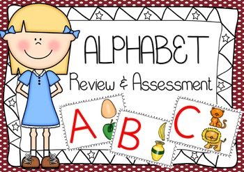 alphabet and phonics review and assessment bundle