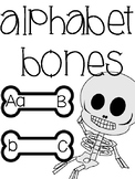 Halloween Alphabet Bones Reading Center (Dem Bones)