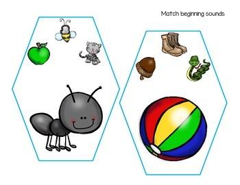 alphabet clip cards_4 sets