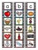 alphabet clip strips_film negative theme