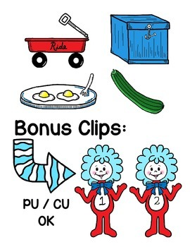 alphabet clipart: that rhyming cat_N to Z