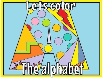 alphabet coloring pages(free)