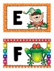 alphabet flashcards: upper and lowercase_half page