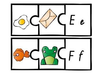 alphabet jigsaws