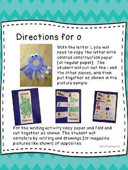 alphabet letter fun for the letter o     LITTLE PREP!!!