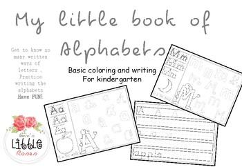 alphabet notebook practice
