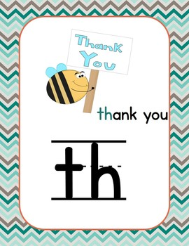 alphabet posters and flashcards: teal, coral, and brown