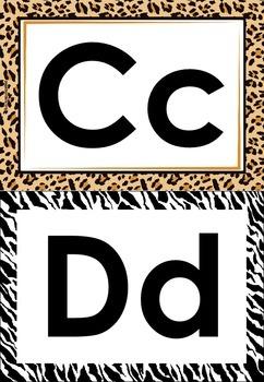 alphabet safari A-Z