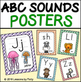alphabet sounds posters