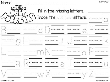 alphabet strip puzzle_the ugly duckling theme