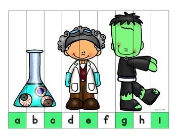 alphabet strip puzzles_bundle 3