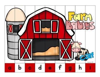alphabet strip puzzles_variety pack