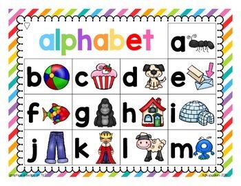 alphabet work mats plus bonus alphabet strip puzzle