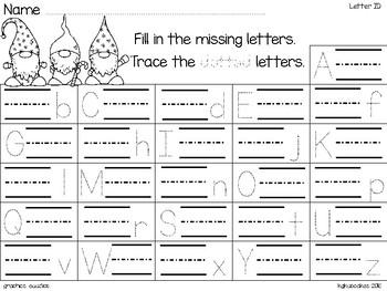 alphabet_2 part matching puzzle_scandanavian gnome theme