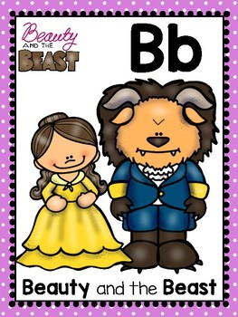 alphabet_full page: fairy tale characters theme