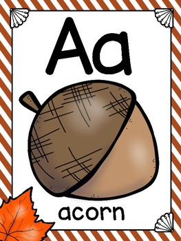 alphabet_full page: it's fall y'all
