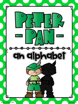 alphabet_full page: peter pan theme