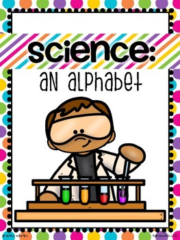 alphabet_full page: science theme