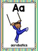 alphabet_full page: sports theme