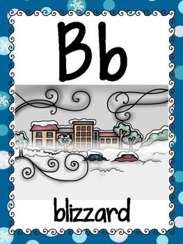 alphabet_full page: winter theme